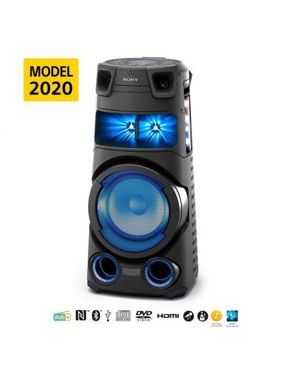 MHC-V73D Visokozmogljiv zvočni sistem s tehnologijo BLUETOOTH®