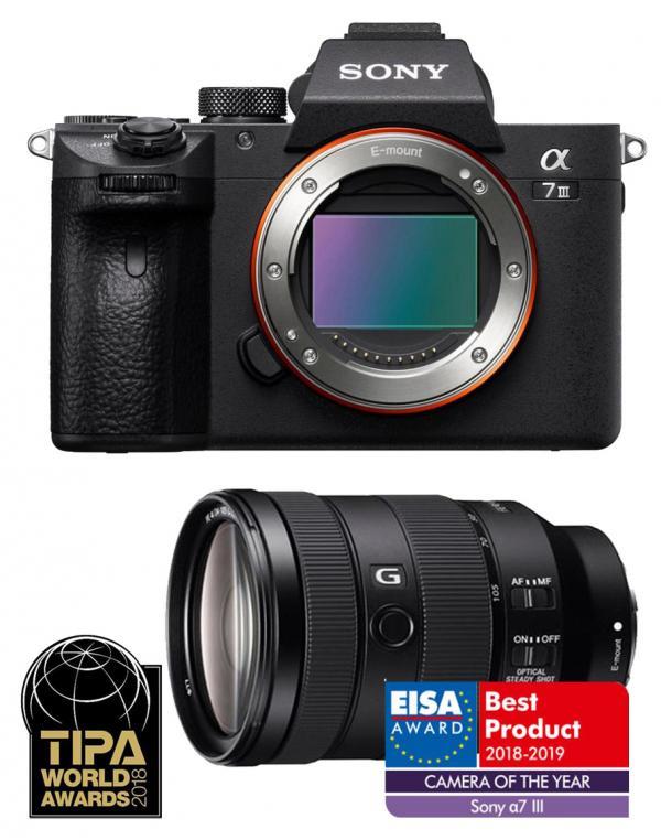 ILCE-7M3GBDI Fotoaparat polnega formata + objektiv SEL-24105G