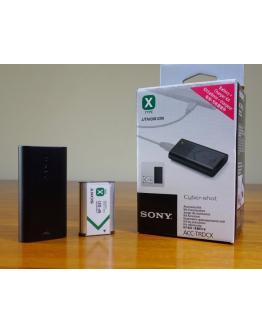 ACC-TRDCX Polnilec in baterija za fotoaparate
