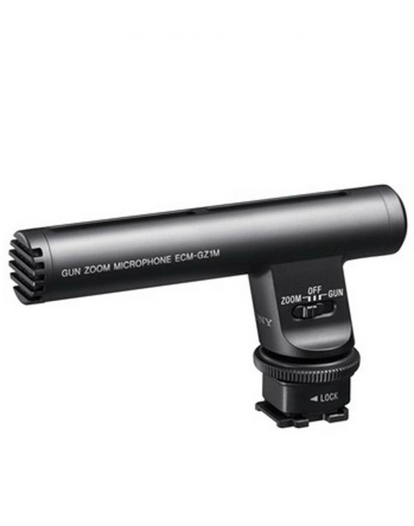 ECM-GZ1MZoom mikrofon z večvmesniškim nastavkom