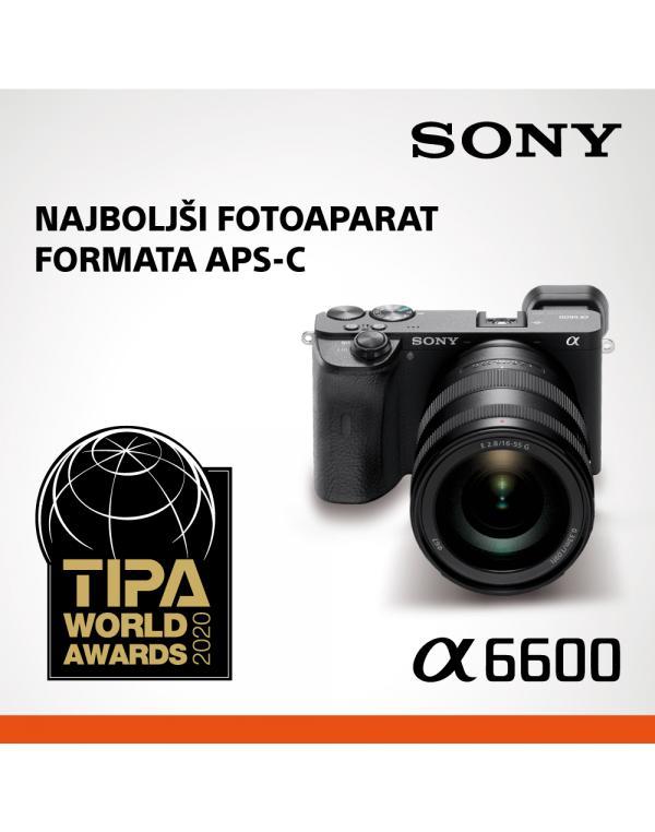 ILCE-6600 Fotoaparat α6600 serije E s senzorjem APS-C