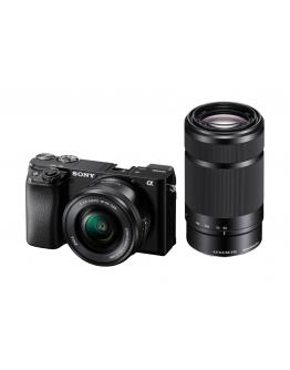 ILCE-6100Y Fotoaparat α6100 + objektiv SEL-P1650 in SEL-55210