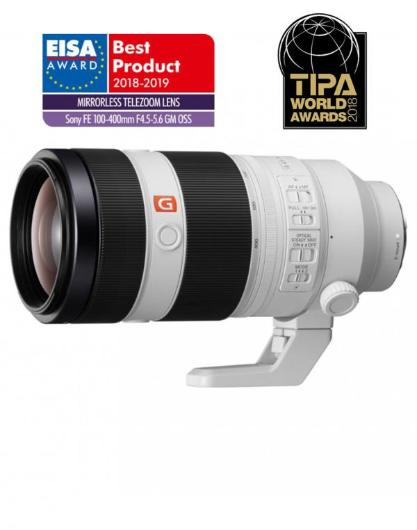 SEL-100400GM Super teleobjektiv z zoomom FE 100–400 mm G Master