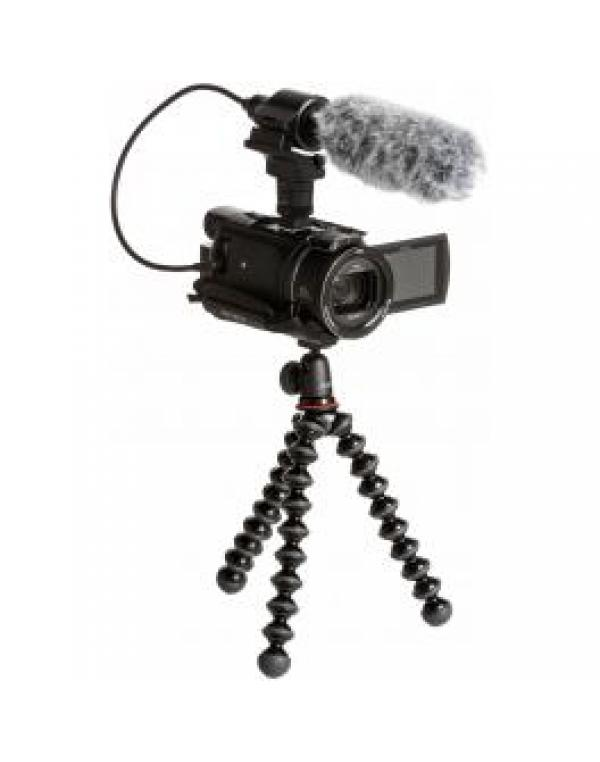 FDR-AX53VGP kit kamera + držalo+ mikrofonECM-CG60