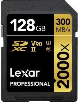 Lexar Professional Pomnilniška kartica SD 128 GB UHS-II