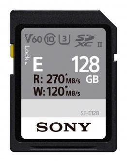 SF-E128 Pomnilniška kartica UHS-II SD 128 GB