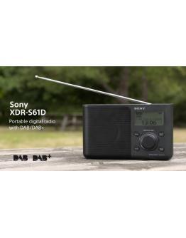 XDR-S61D Prenosni radio DAB/DAB+