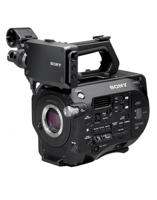 PXW-FS7 Kamera brez objektiva