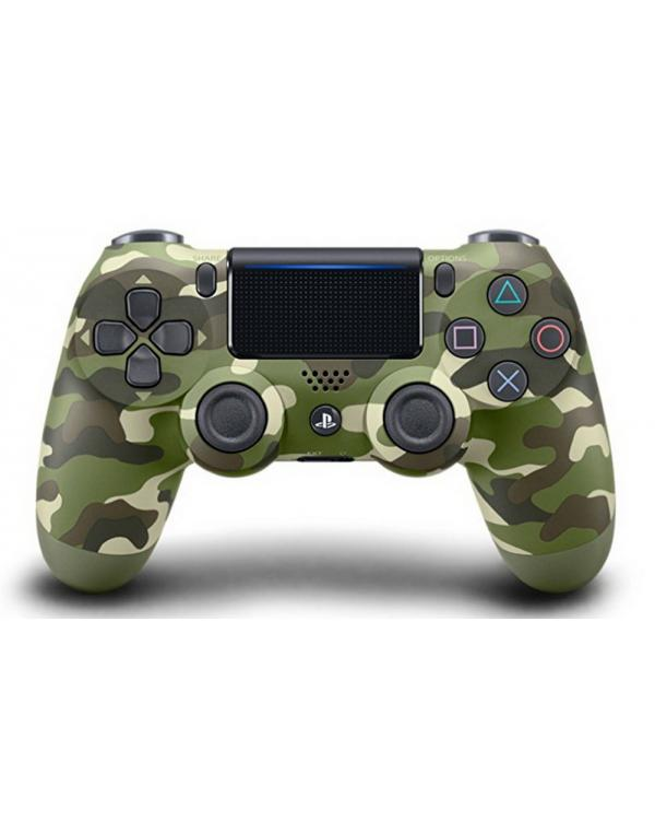 PS4 DualShock kontroler Green Camouflage