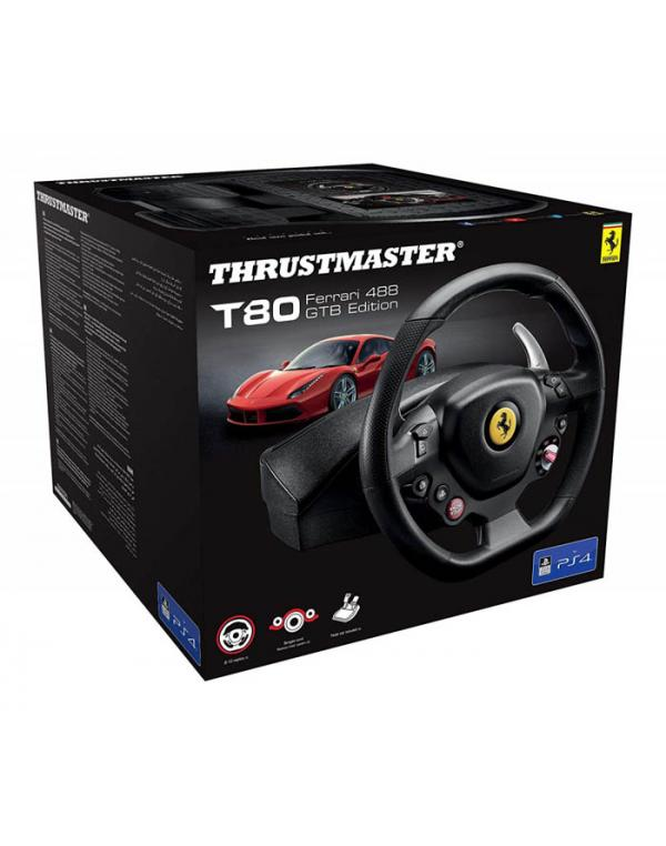 THRUSTMASTER T80 FERRARI 488GTB EDITION RACING WHEEL