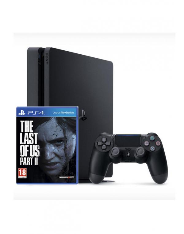 PS4 500GB + THE LAST OF US II