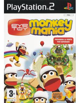 PS2 EYE TOY MONKEY MANIA