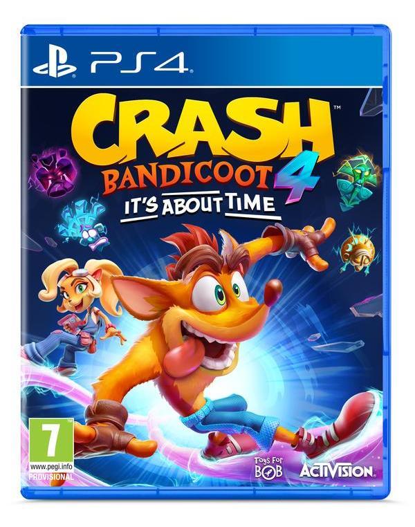 PS4 CRASH BANDICOOT: IT'S ABOUT TIME