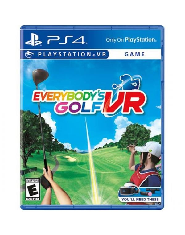 PS4 EVERYBODY'S GOLF VR