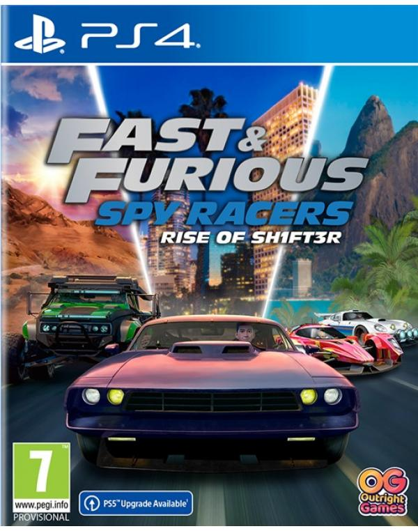 PS4 FAST & FURIOUS: SPY RACERS RISE OF SH1FT3R