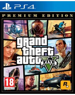 PS4 GRAND THEFT AUTO 5 PREMIUM EDITION