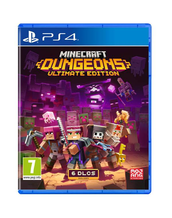 PS4 MINECRAFT DUNGEONS ULTIMATE EDITION