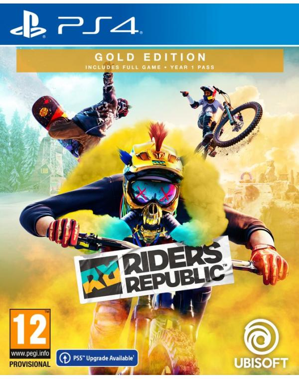 PS4 RIDERS REPUBLIC GOLD EDITION