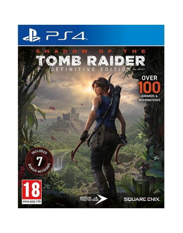 PS4 SHADOW OF THE TOMB RAIDER: Definitive Edition