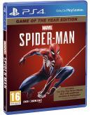PS4 500GB igralna konzola črne barve + igra Spider-Man GOTY