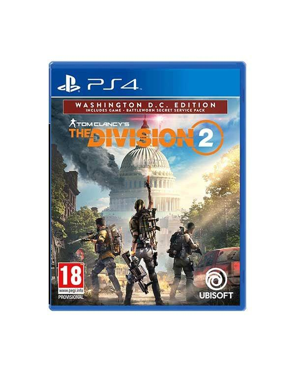 PS4 TOM CLANCY'S THE DIVISION 2: WASHINGTON D.C. EDITION
