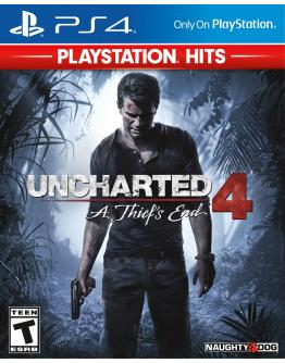 PS4 UNCHARTED 4: A THIEF'S END