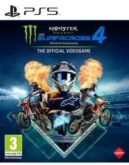 PS5 MONSTER ENERGY SUPERCROSS: THE OFFICIAL VIDEOGAME 4