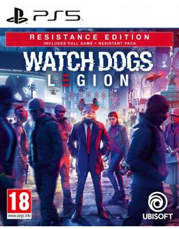 PS5 WATCH DOGS LEGION RESISTANCE EDITION DAY1