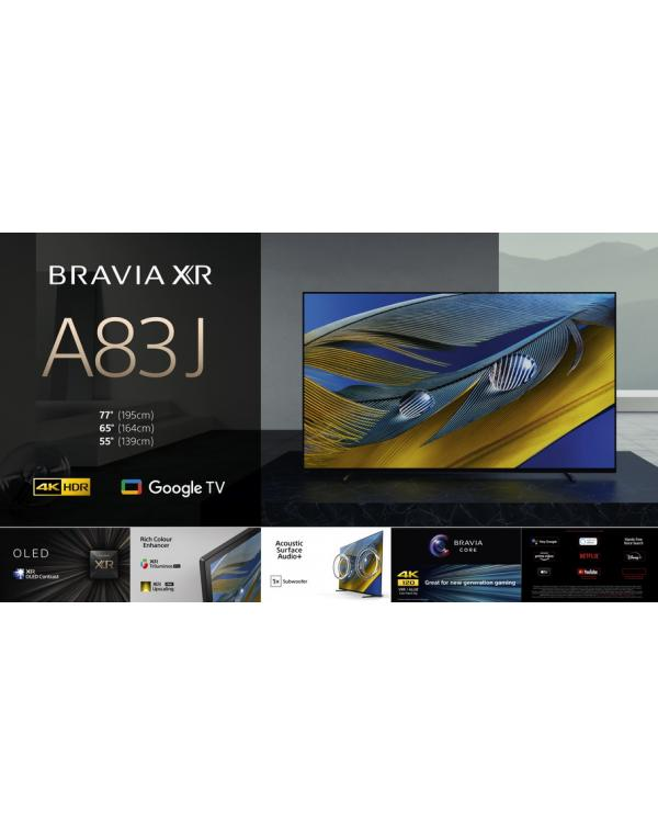 XR-55A83J Televizor 4K HDR OLED