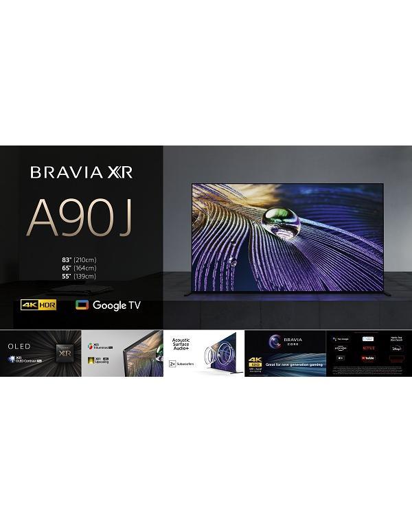 XR-55A90J Televizor 4K HDR OLED