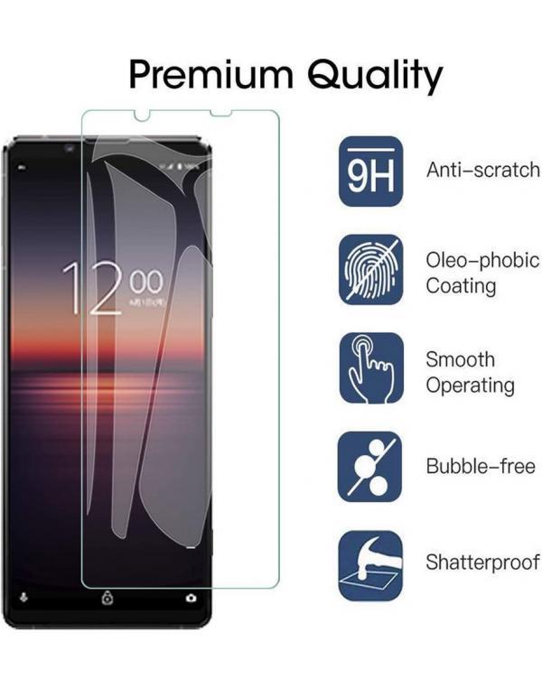 Xperia zaščitno steklo za telefon 1 II